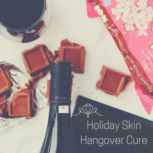 holiday skin hangover cure