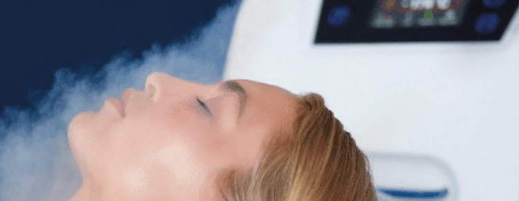 Cryotherapy and ultrasound facial technology